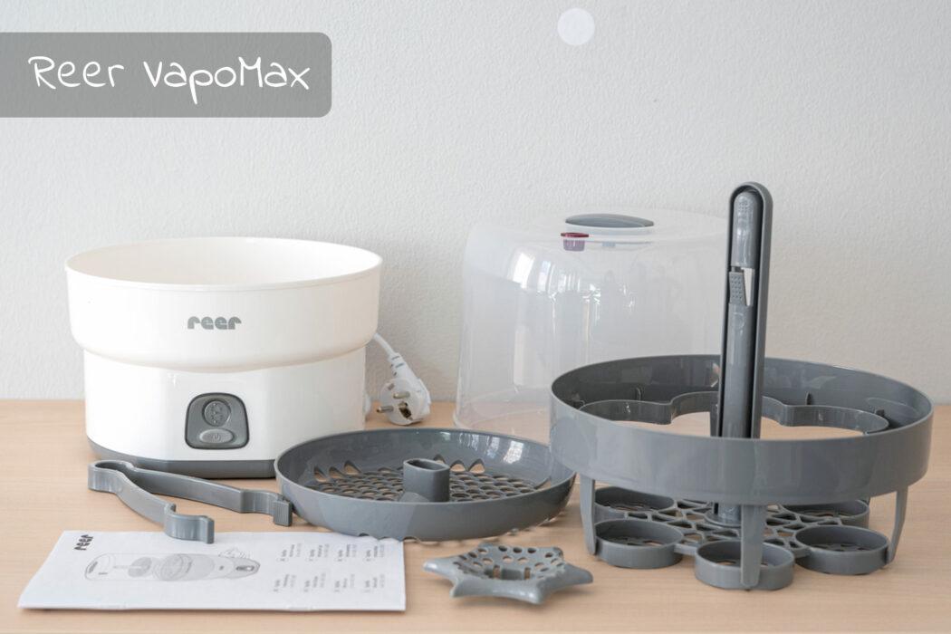Test Reer Vaporisator VapoMax weiß grau