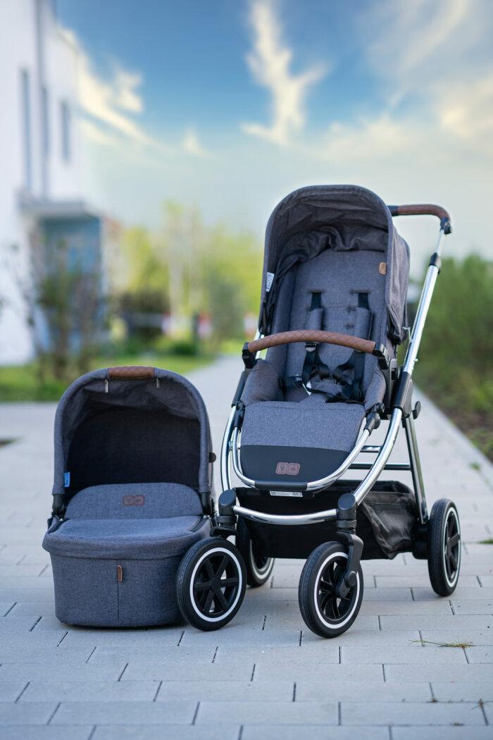 Test ABC Design Kombi-Kinderwagen Samba