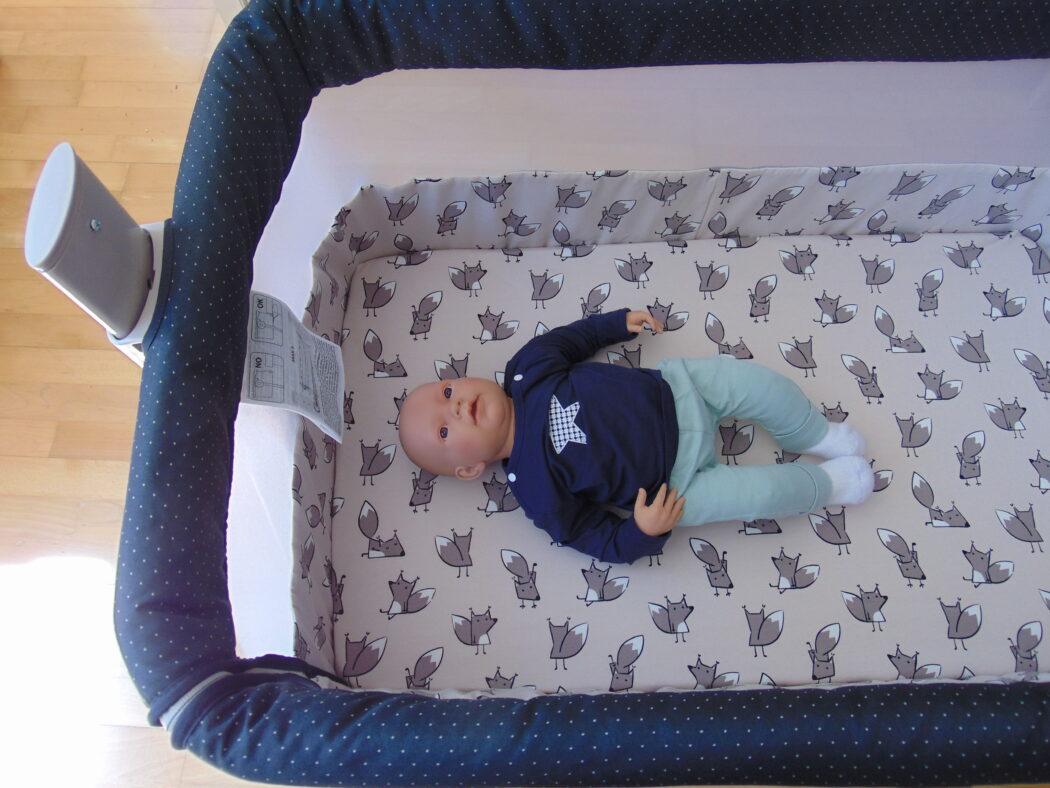 Baby ABC Design Beistellbett Sari Fox