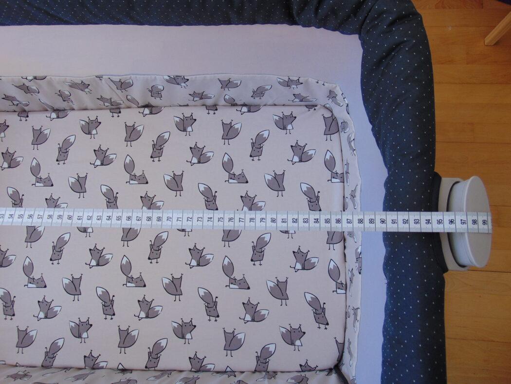 Länge ABC Design Beistellbett Sari Fox
