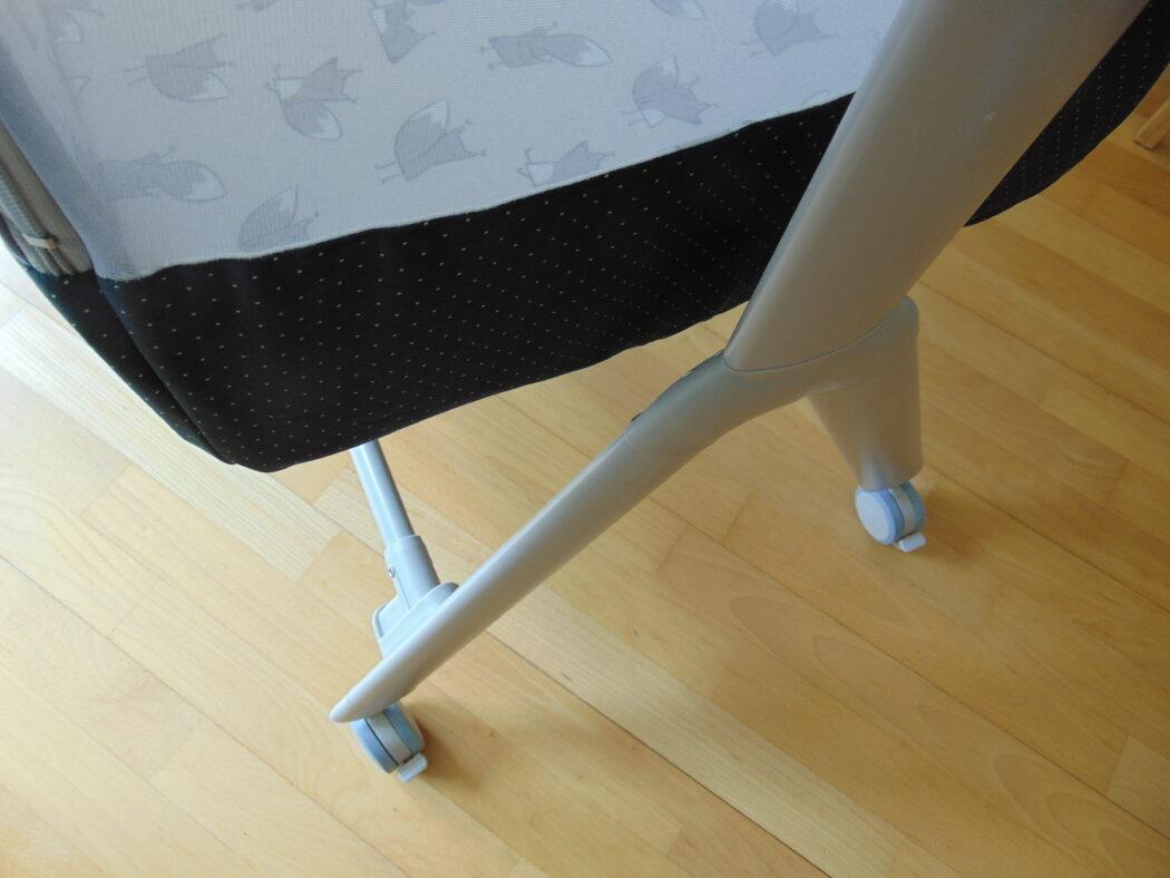 Rollen ABC Design Beistellbett Sari Fox, ABC Design Beistellbett Test, ABC Design Reisebett, ABC Design Stubenwagen