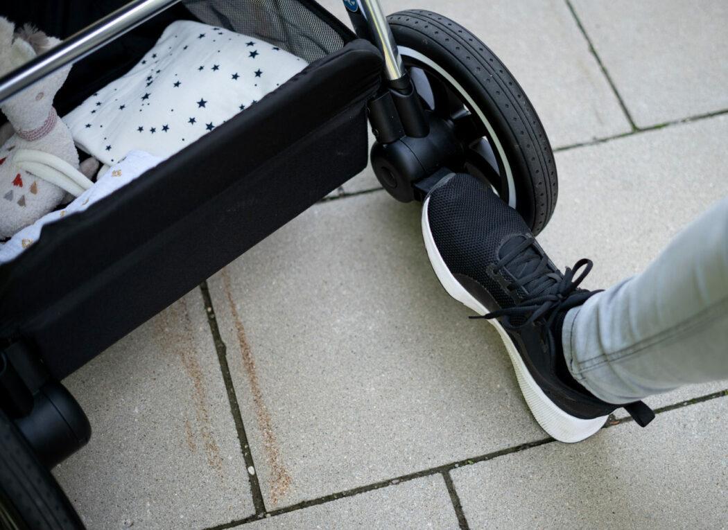 ABC Design Samba im Test Fuß-Bremse und viel Beinfreiheit