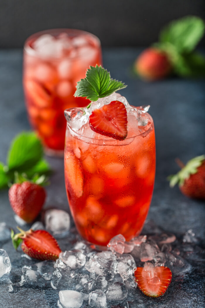 Alkoholfreier Cocktail Rezept Strawberry Surprise