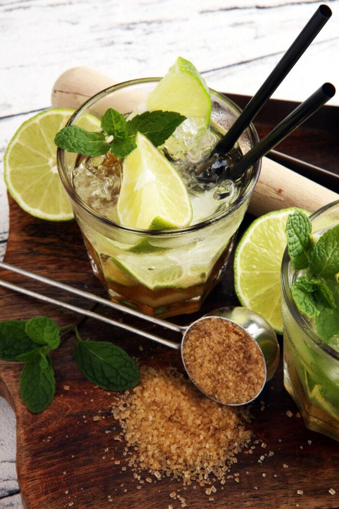 Alkoholfreier Cocktail Caipirinha Rezept Ipanema