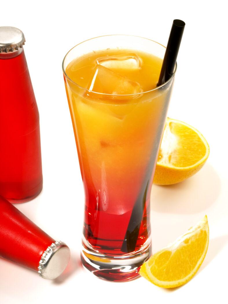 alkoholfreie Cocktails Rezepte Kräuterbitter Orange