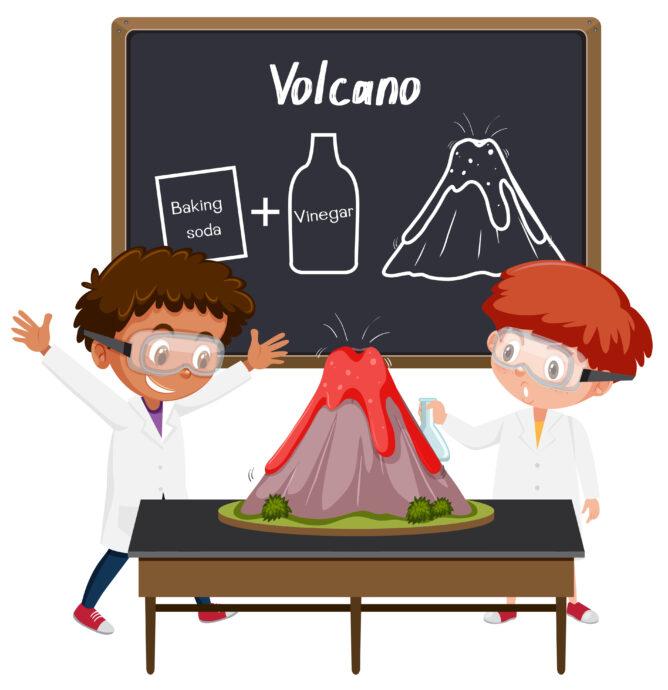 vulkanexperiment, vulkan experiment