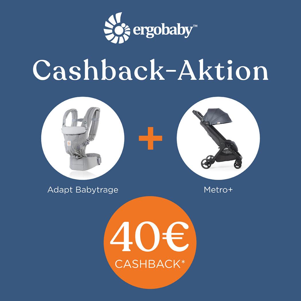 ergobaby cashback aktion geld zurück ergobaby adapt metro+ reisebuggy babyartikel.de