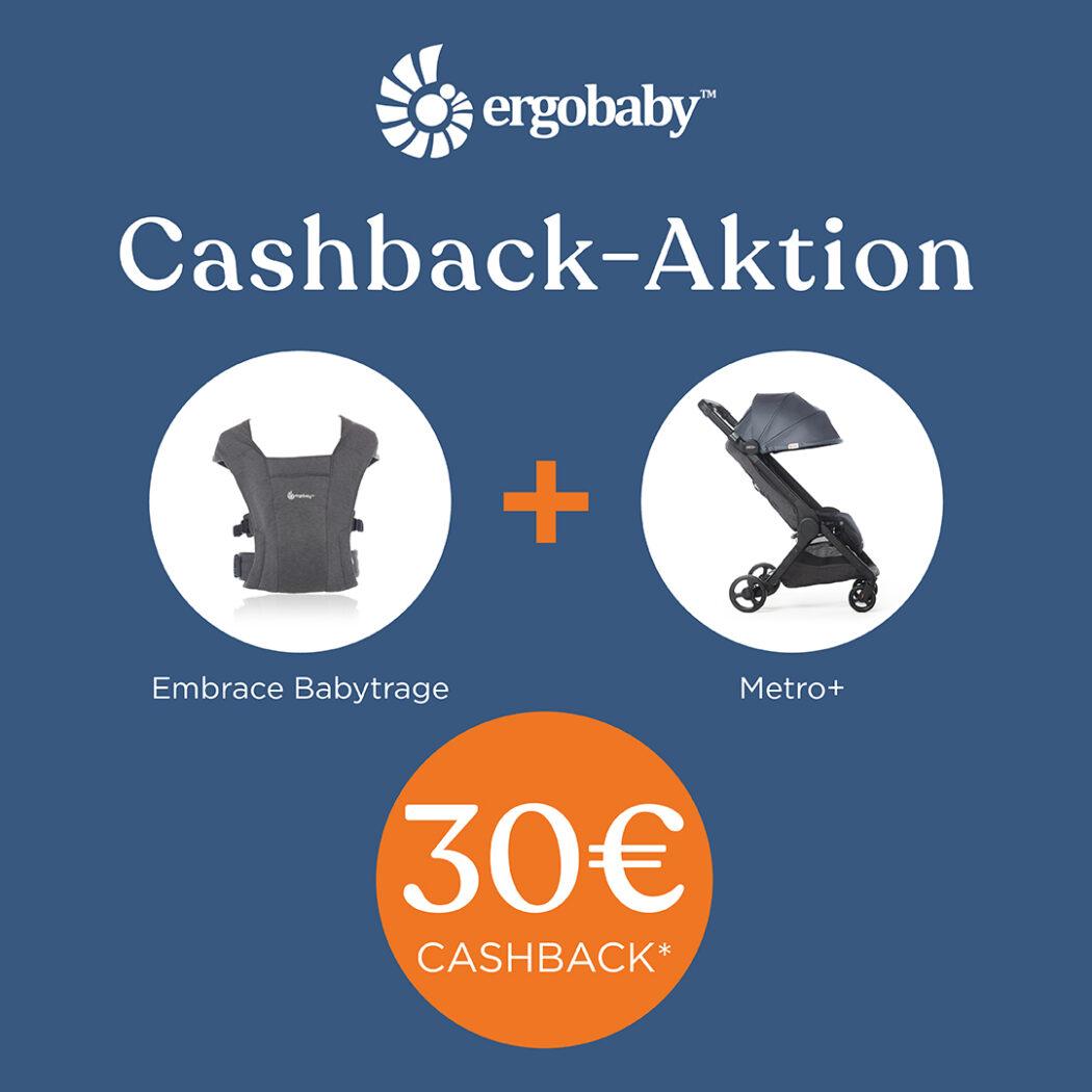 ergobaby cashback aktion geld zurück ergobaby embrace babytrage metro+ reisebuggy babyartikel.de