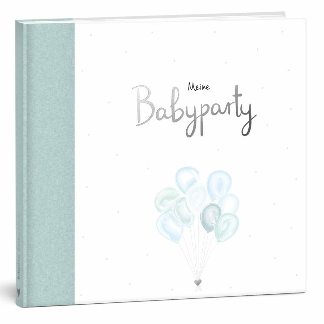 mintkind gaestebuch babypartybuch