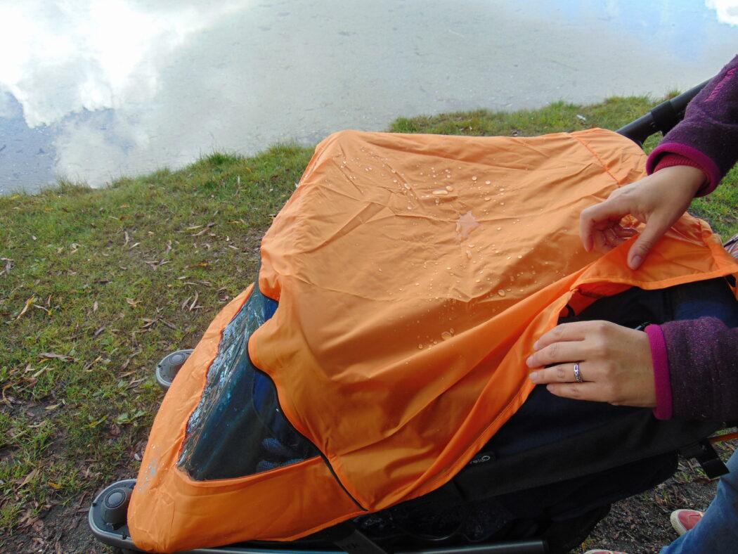 tfk velo2 wetterschutz anbringen, tfk velo 2 regenverdeck